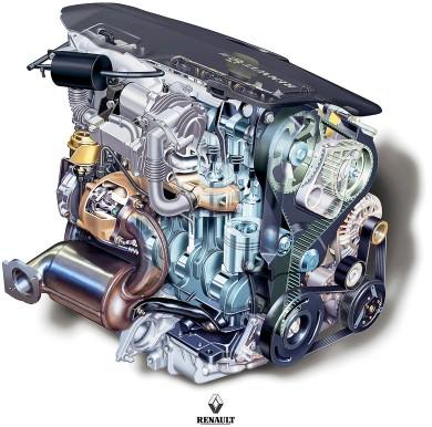 Renault 1.9 dCi dizel motor