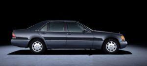 Mercedes-Benz S-Class 140 series: 600 SEL