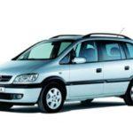 Opel Zafira A 1998 – 2005 – POLOVNJAK, MOTORI, KVAROVI