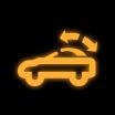 Indikator pokretnog krova (kabrioleti)