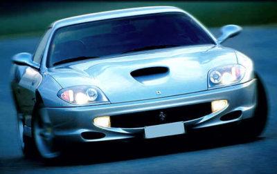 "Ferrari Maranello 575 – tipičan primer GT automobila sa ""Ram Air"" sistemom"