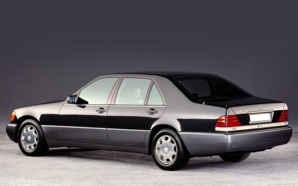 MercedesS klasa W140