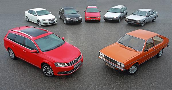 Volkswagen-Passat-History