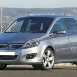 Opel Zafira B 2005. – 2011.  Polovnjak, prednosti, mane