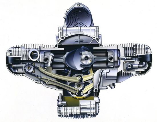 Vazduhom hlađeni boxer-motor (BMW AG)