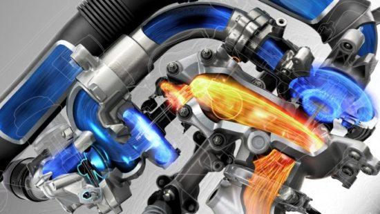 Za povećanje elastičnosti koristi se kombinacija dva turbo punjača