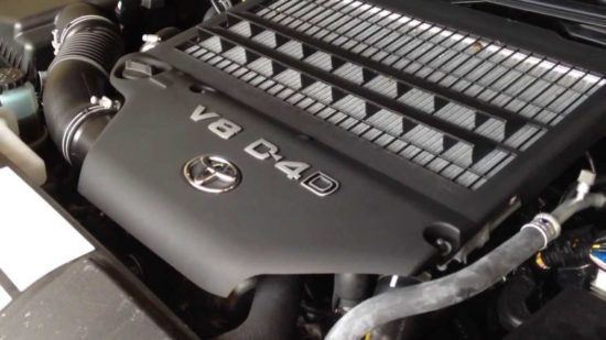 Toyota Engine 4.5 V8 D4D Technical Education - Video