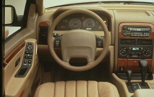 Jeep Grand Cheroke - unutrašnjost