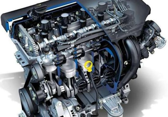 Ford 2.0 Duratec motor