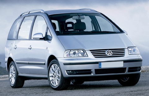 Vw Sharan 7M servis