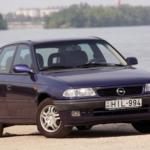 Koliko motornog ulja ide u  Opel Astra F (1991 – 1998) ?